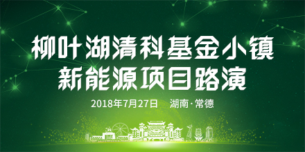柳叶湖清科基金小镇新能源项目路演